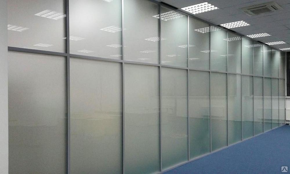 Стоимость перегородок из стекла для офиса